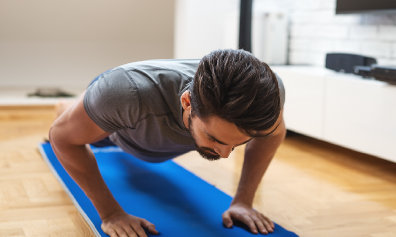 If you're trying to save time or money, or you're simply more comfortable working out at home, get fit without a gym by using these tips